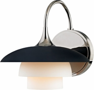 Hudson Valley 1011-PN Barron Polished Nickel Wall Lamp