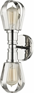 Hudson Valley 1082-PN Red Hook Polished Nickel Wall Light Sconce