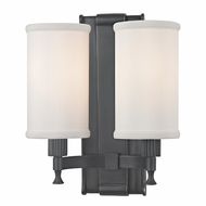 Hudson Valley 1122-OB Palmdale Old Bronze Finish 9.5  Wide Wall Mounted Lamp