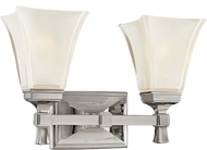 Hudson Valley 1172-PN Kirkland Polished Nickel 2-Light Lighting For Bathroom
