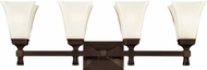 Hudson Valley 1174-OB Kirkland Old Bronze 4-Light Vanity Light