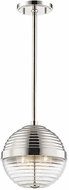 Hudson Valley 1210-PN Easton Contemporary Polished Nickel Mini Lighting Pendant