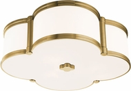 Hudson Valley 1216-AGB Chandler Aged Brass 17  Ceiling Lighting Fixture