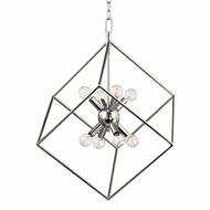 Hudson Valley 1220-PN Roundout Modern Polished Nickel Entryway Light Fixture