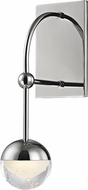 Hudson Valley 1221-PN Boca Contemporary Polished Nickel LED Wall Lighting Sconce