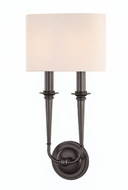 Hudson Valley 1232-OB Lourdes Old Bronze 2-Light Wall Mounted Lamp