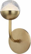 Hudson Valley 1241-AGB Boca Modern Aged Brass LED Wall Sconce Lighting