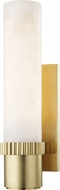 Hudson Valley 1260-AGB Argon Contemporary Aged Brass LED Wall Sconce