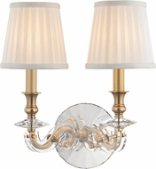 Hudson Valley 1292-AGB Lapeer Aged Brass Wall Mounted Lamp