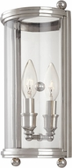 Hudson Valley 1301-PN Mansfield Polished Nickel Wall Mounted Lamp