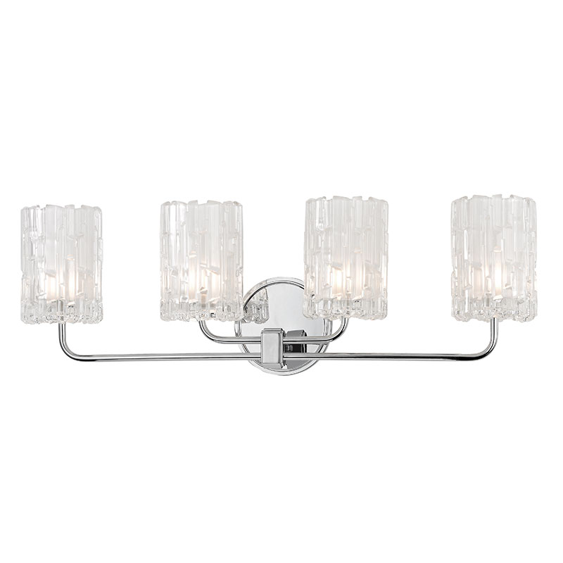 Hudson Valley 1334-PC Dexter Polished Chrome Xenon 4-Light Bathroom ...