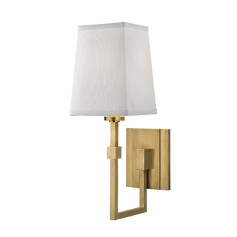 Hudson valley 1361 agb fletcher modern aged brass wall light sconce hudson valley 1361 agb fletcher modern aged brass wall light sconce aloadofball Choice Image