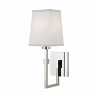 Hudson Valley 1361-PN Fletcher Contemporary Polished Nickel Wall Lamp