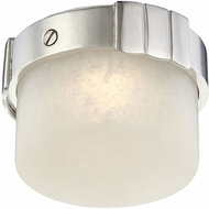 Hudson Valley 1410-PN Beckett Contemporary Polished Nickel LED Ceiling Light Fixture