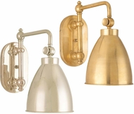 Hudson Valley 1429 Somerset Wall Swing Arm Lamp with Metal Shade