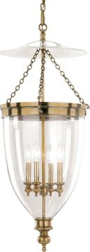 Hudson Valley 143-AGB Hanover Aged Brass Entryway Light Fixture