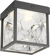 Hudson Valley 1450-OB Calvin Contemporary Old Bronze LED Overhead Light Fixture