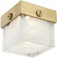 Hudson Valley 1460-AGB Petty Contemporary Aged Brass LED Ceiling Lighting