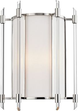 Hudson Valley 1502-PN Delancey Contemporary Polished Nickel Light Sconce
