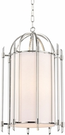 Hudson Valley 1515-PN Delancey Contemporary Polished Nickel 15 Foyer Light Fixture