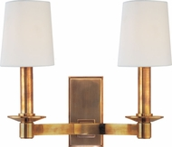 Hudson Valley 152-AGB Spencer Aged Brass Wall Sconce