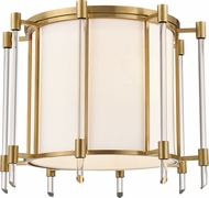 Hudson Valley 1521-AGB Delancey Modern Aged Brass Ceiling Lighting