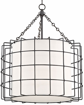 Hudson Valley 1524-OB Sovereign Contemporary Old Bronze LED 24  Pendant Light