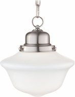 Hudson Valley 1609-SN Edison Collection Satin Nickel 9  Pendant Light Fixture