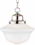 Hudson Valley 1609-PN Edison Collection Polished Nickel 9  Hanging Light