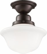 Hudson Valley 1609F-OB Edison Collection Old Bronze Flush Mount Lighting Fixture