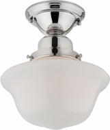 Hudson Valley 1609F-PN Edison Collection Polished Nickel Flush Ceiling Light Fixture