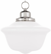 Hudson Valley 1615-PN Edison Collection Polished Nickel 15  Hanging Pendant Lighting