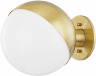 Hudson Valley 1660-AGB Bodie Contemporary Aged Brass Wall Sconce Lighting