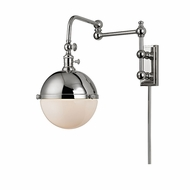Hudson Valley 1672-PN Stanley Retro Polished Nickel Swing Arm Light
