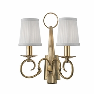 Hudson Valley 1692-AGB Caldwell Aged Brass Lighting Wall Sconce