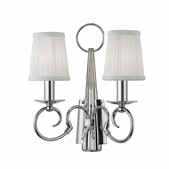 Hudson Valley 1692-PN Caldwell Polished Nickel Wall Sconce Lighting