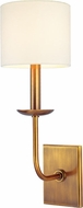 Hudson Valley 1711-AGB Kings Point Aged Brass Wall Mounted Lamp