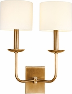 Hudson Valley 1712-AGB Kings Point Aged Brass Wall Sconce Light