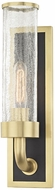 Hudson Valley 1721-AGB Soriano Modern Aged Brass Wall Mounted Lamp