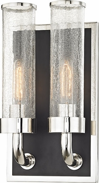 Hudson Valley 1722-PN Soriano Contemporary Polished Nickel Wall Sconce