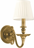 Hudson Valley 1741-AGB Charleston Aged Brass Lighting Wall Sconce