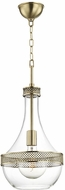 Hudson Valley 1810-AGB Hagen Modern Aged Brass 11  Foyer Lighting