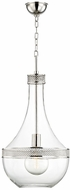 Hudson Valley 1814-PN Hagen Contemporary Polished Nickel 14  Foyer Light Fixture