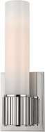 Hudson Valley 1821-PN Fulton Contemporary Polished Nickel Wall Sconce Light
