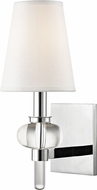 Hudson Valley 1900-PC Luna Polished Chrome Wall Light Fixture
