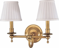 Hudson Valley 1902-AGB Beekman Aged Brass Wall Mounted Lamp