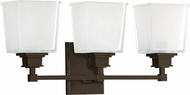 Hudson Valley 1953-OB Berwick Old Bronze 3-Light Bathroom Vanity Light Fixture