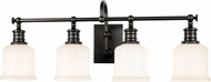 Hudson Valley 1974-OB Keswick Old Bronze 4-Light Bath Light Fixture