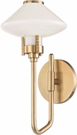 Hudson Valley 2000-AGB Knowles Aged Brass LED Wall Lighting