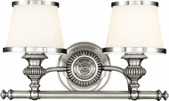 Hudson Valley 2002-PN Milton Polished Nickel 2-Light Bathroom Vanity Light